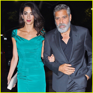 George & Amal Clooney Step Out in Style for Night Out in NYC