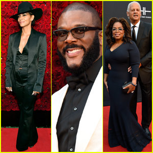 Halle Berry & Oprah Winfrey Support Tyler Perry at Studios Grand Opening!