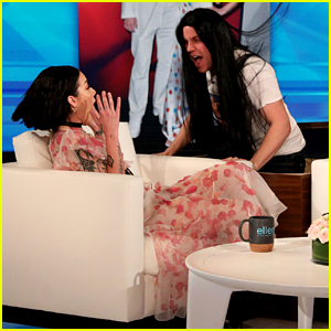 Halsey Confirms Evan Peters Is Her Boyfriend After Ellen's Jump Scare