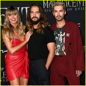 Heidi Klum is Red-Hot at 'Maleficent 2' Premiere With Tom Kaulitz