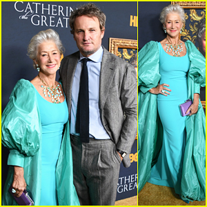 Helen Mirren Celebrates 'Catherine The Great' Premiere!