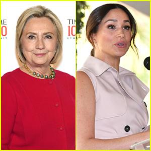 Hillary Clinton Defends Meghan Markle Regarding British Tabloid Treatment
