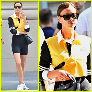 Irina Shayk Goes Sporty for Day Out in NYC
