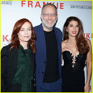 Isabelle Huppert & Marisa Tomei Team Up at 'Frankie' Special NYC Screening!