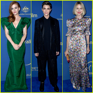 Isla Fisher, Ruby Rose, & Naomi Watts Arrive in Style for Australians in Film Awards 2019