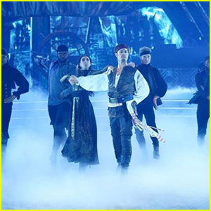 James Van Der Beek Becomes Jack Sparrow During 'DWTS' Disney Night - Watch Now!