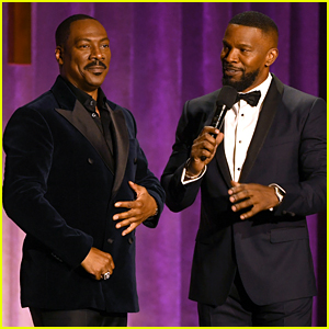 Jamie Foxx & Eddie Murphy Entertain the Crowd at Governors Awards 2019