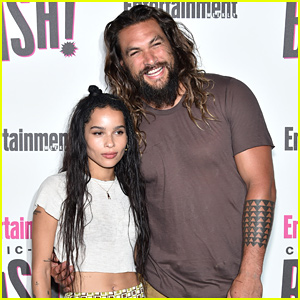 Jason Momoa Reacts to Step-Daughter Zoe Kravitz's Catwoman Casting
