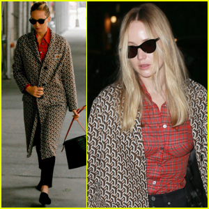 Jennifer Lawrence Has a Spa Day Before Dinner Date With Cooke Maroney!