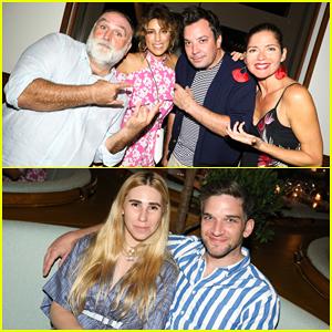 Jimmy Fallon, Jennifer Esposito & More Celebrate at Dorado Beach in Puerto Rico!