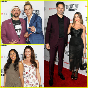 Joe Manganiello & Sofia Vergara Celebrate 'Jay & Silent Bob Reboot' Premiere - Watch Trailer!