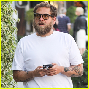 Jonah Hill Sports Bushy Beard While Stepping Out in Beverly Hills