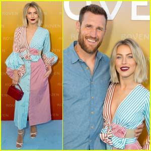 Julianne Hough & Husband Brooks Laich Couple Up for Roven Clean Beauty Launch Party