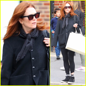 Julianne Moore Enjoys Afternoon of Shopping in NYC