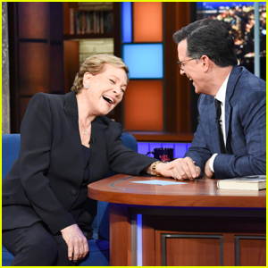 Julie Andrews Tells Stephen Colbert Therapy 'Saved' Her Life!