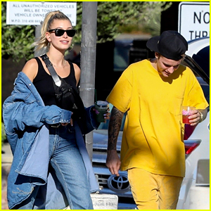 Justin & Hailey Bieber Spent a Relaxing Sunday Together