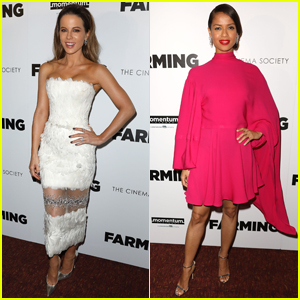 Kate Beckinsale & Gugu Mbatha-Raw Look So Chic at 'Farming' Screening in NYC