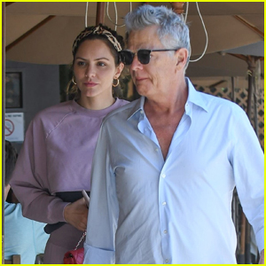 Katharine McPhee & David Foster Enjoy Lunch Date at Beverly Hills