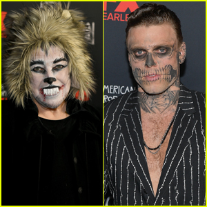 Kathy Bates & Gus Kenworthy Dress Up for 'American Horror Story' 100th Episode Celebration!