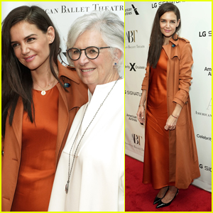 Katie Holmes is Joined by Mom Kathleen at American Ballet Theatre's Fall Gala 2019