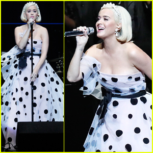 Katy Perry Switches Up Her Look For Performance at Silence the Violence Benefit