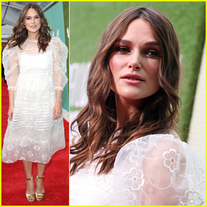 Keira Knightley Makes First Red Carpet Appearance After Welcoming Second Child!
