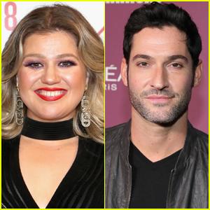 Kelly Clarkson Visits Tom Ellis on 'Lucifer' Set, Teases Season 5 Surprise!