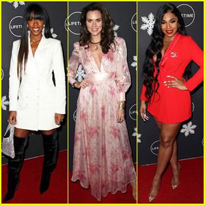Kelly Rowland, Hilarie Burton & Ashanti Kick Off 'It's A Wonderful Lifetime' 2019 Season!