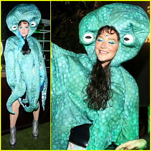 Kesha Dresses Up As Octopus For Her 'Raising Hell, Raising Spirits' Halloween Party!