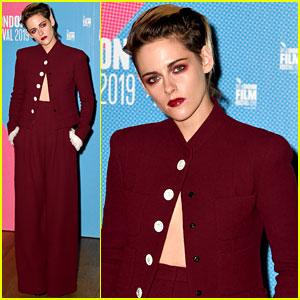 Kristen Stewart is Red-Hot at 'Seberg' BFI London Film Festival Screening