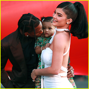 Kylie Jenner & Travis Scott Reunite To Take Stormi To Pumpkin Patch, But Aren't Back Together