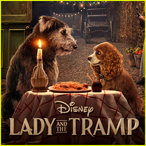 Watch The Iconic Lady The Tramp Spaghetti Scene From The Live Action Remake Exclusive Disney Plus Exclusive Justin Theroux Lady And The Tramp Movies Tessa Thompson Video Just Jared