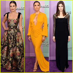 Lea Michele, Eva Longoria, & Alexandra Daddario Step Out in Style for amfAR Gala 2019