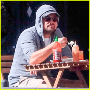 Leonardo DiCaprio Enjoys Solo Lunch Before Meeting Up with Girlfriend Camila Morrone