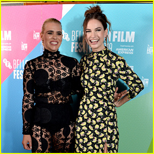 Lily James & Billie Piper Attend 'Rare Beasts' UK Premiere