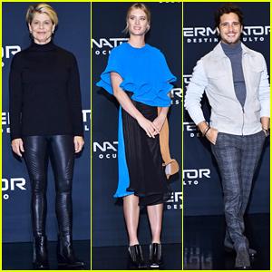 Linda Hamilton & Mackenzie Davis Join 'Terminator: Dark Fate' Cast at Press Conference