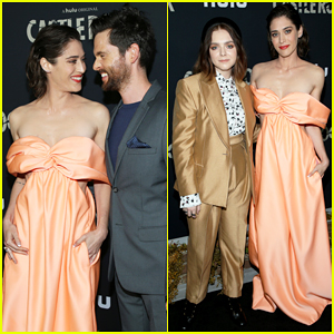 Lizzy Caplan Gets Support from Hubby Tom Riley at 'Castle Rock' Season Two Premiere!