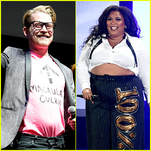 Macauley Culkin Dances Onstage at Lizzo Concert - Watch!