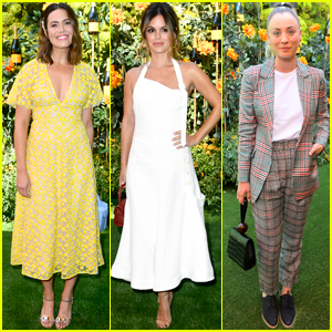 Mandy Moore, Rachel Bilson & Kaley Cuoco Show Their Style at Veuve Clicquot Polo Classic