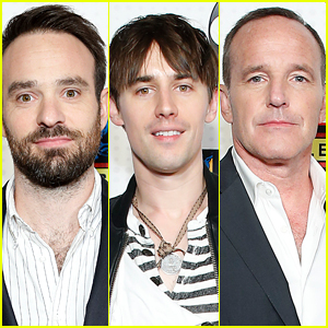 Charlie Cox, Reeve Carney & Clark Gregg Attend ABC & Marvel Honor Stan Lee Event in NYC