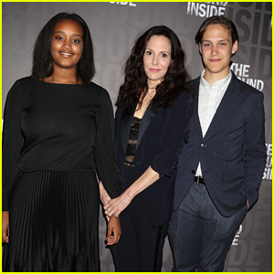 Mary-Louise Parker's Kids Join Her for Rare Appearance at Broadway Opening!