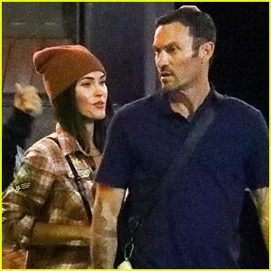 Megan Fox & Brian Austin Green Have a Sushi Date Night