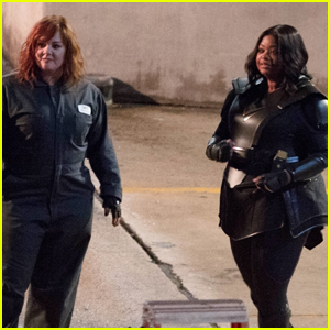 Melissa McCarthy & Octavia Spencer Film 'Thunder Force' in Atlanta