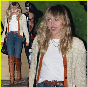Miley Cyrus Is Living Her Hot Girl Fall While Out In Malibu