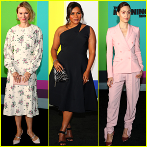 Naomi Watts, Mindy Kaling, Emmy Rossum, & More Check Out 'The Morning Show' at NYC Premiere!