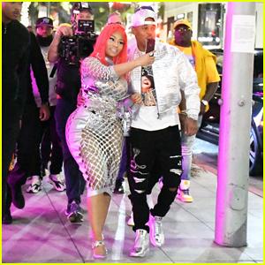 Nicki Minaj Celebrates New 'Fendi Prints On' Collaboration with Kenneth Petty!