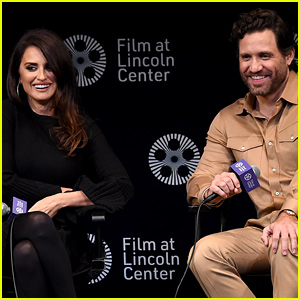 Penelope Cruz & Edgar Ramirez Are All Smiles at 'Wasp Network' Press Conference