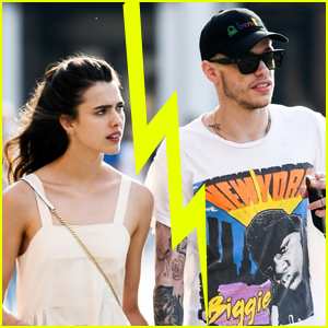 Pete Davidson & Margaret Qualley Split (Report)