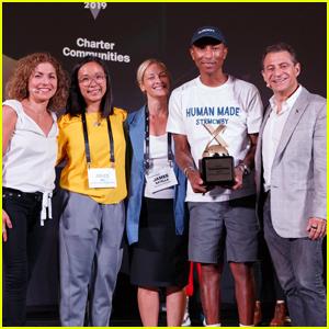 Pharrell Williams Wins Big at XPRIZE's Visioneering Summit!