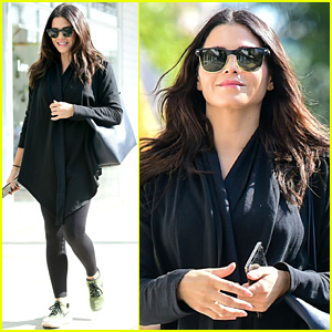 Pregnant Jenna Dewan Covers Up Baby Bump in All-Black Ensemble
